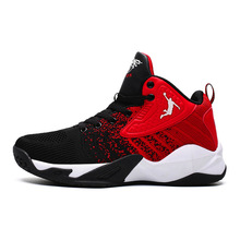 Mens Jordan Basketball Shoes Air Cushion Basketball Sneakers High-top Sports Sneakers Men Breathable basketball Shoes Jordan cheap FANNAI Thread Rubber Concrete Floor Hard Court PVC Floor Wooden Floor Synthetic Cotton Fabric Beginner Medium(B M) Culture
