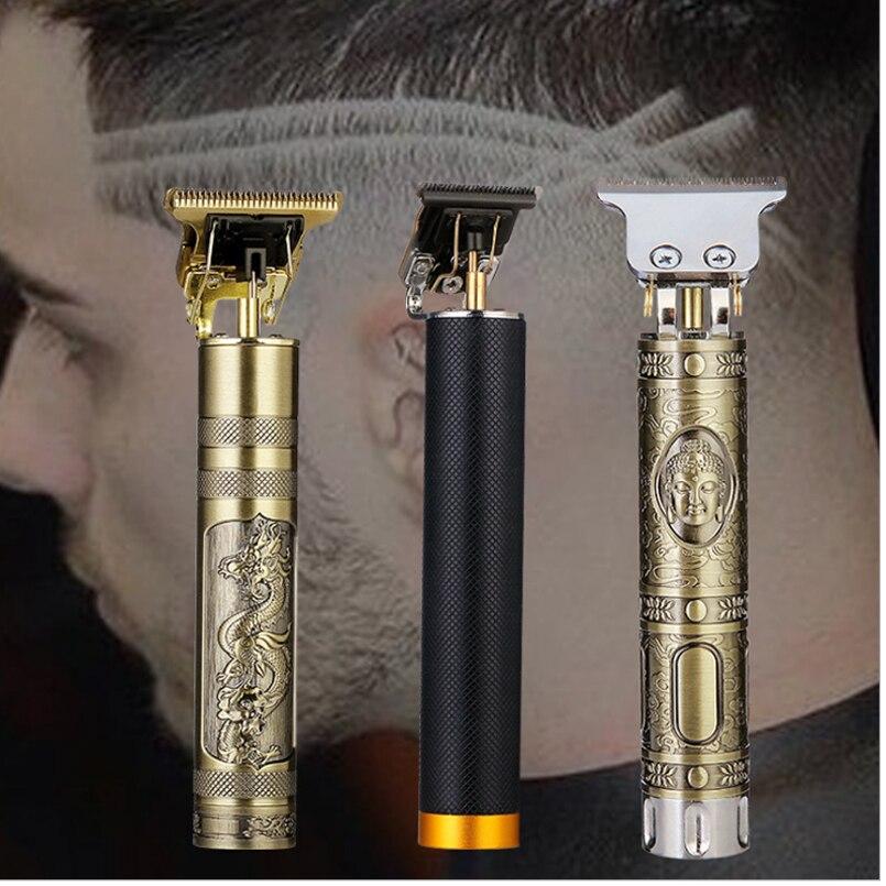 Elctric שיער קליפר נטענת שיער גוזם אלחוטי גברים שיער מכונת חיתוך בארבר תספורת זקן גוזם גילוח