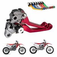 CNC Pivot Bremse Kupplung Hebel Dirt Bike Motorrad Bike Für Honda CRF250R CRF450R CRF 250R 450R