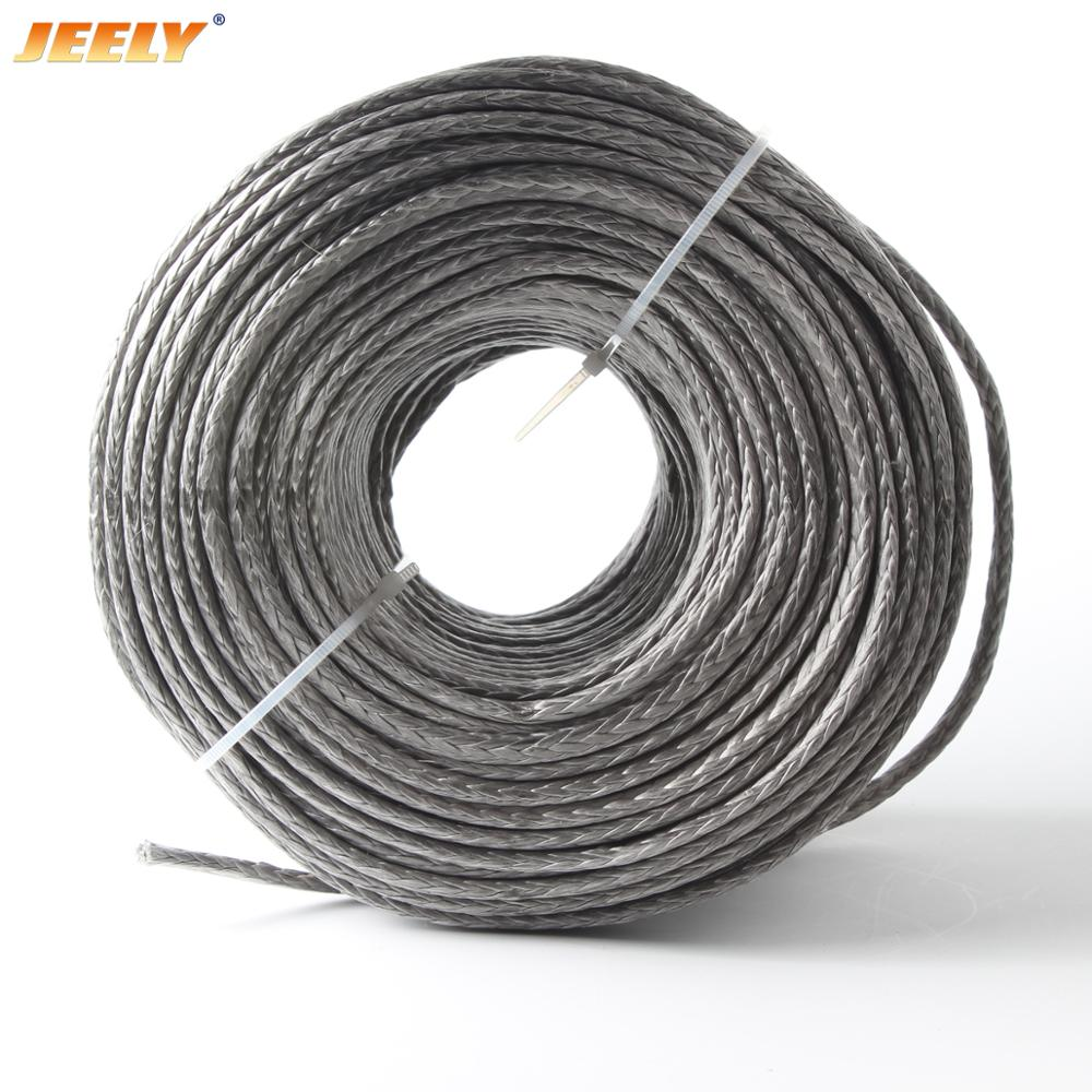 JEELY 10m 1200kg Spectra Braided Kite Line 3.5mm 12weave