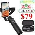 Hohem iSteady Мобильный Plus 3-Axis смартфон шарнирный стабилизатор для камеры GoPro, для iPhone11Pro/Max, для смартфонов на базе Android, 280 г Полезная нагрузка