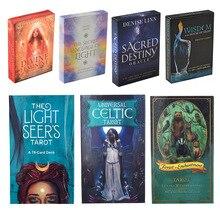 The Light Seer's Oracle Card Mermaid Tarot Deck Viceversa Tarot Kit Green Witch Tarot Cards Universal Celtic Tarot Fate Cards