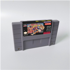 Street Game Fighter II Turbo Hyper Fighting - Action Game Card US Version English Language image