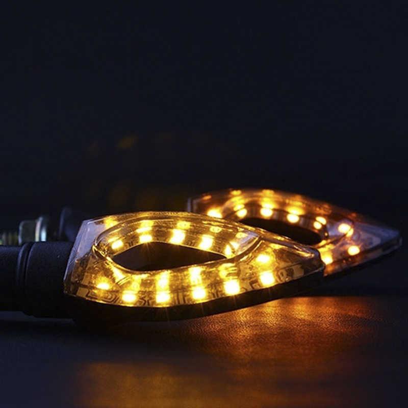 Luzes traseiras indicadores para moto moto motocicleta acessórios amarelo vermelho 1pc 12 led sinal de volta da motocicleta piscas luz