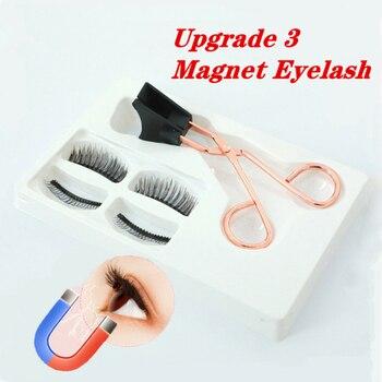 Magnetic Eyelashes Kit Magnetic Lashes Eyeliner Magnetic Kit Magnetic False Eyelashes Clips Artificial Nature Magnetic Eyelashes 1