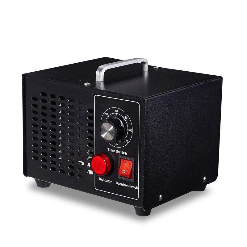 desodorante y esterilizador generador de ozono Filtro de aire de alta resistencia M/áquina comercial de desinfecci/ón con ozono 5000-10000 Mg // h Purificador de aire profesional O3 Euro 220V