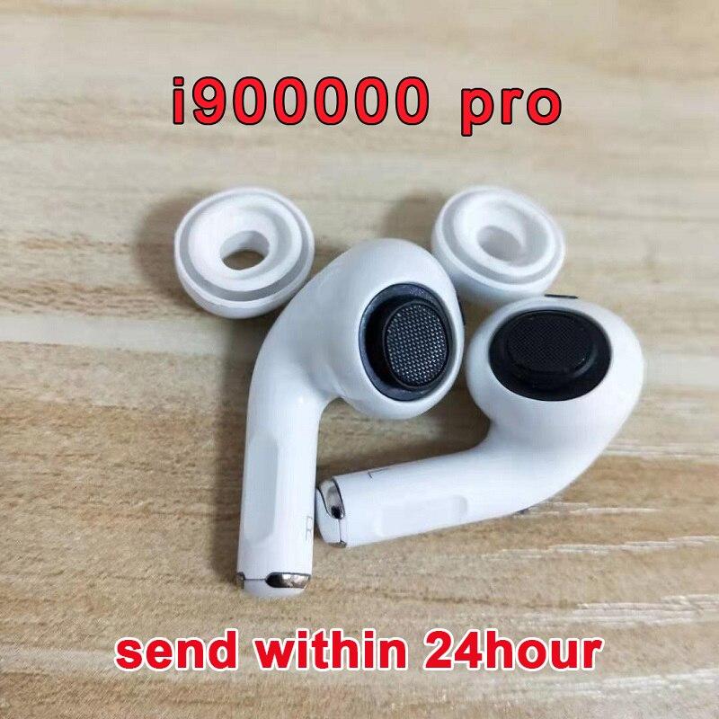 Original I900000 Pro Tws Copy 1:1 Airpodding Pro Pressure Sensor Earbuds Wireless Bluetooth Earphones PK I100000 MX  AP Pro TWS
