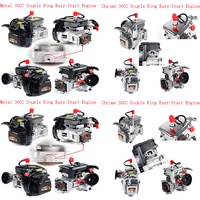 36CC Double ring 4 hloe Easy Start Engine for 1/5 HPI ROVAN KM MCD GTB DDT FID BAJA LOSI 5IVE T GoPed RedCat RC CAR PARTS
