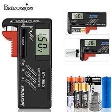 Digital Battery Tester 9V/1.5V/AA/AAA Battery Capacity Tester Button Cell Volt Checker Universal Battery Tester BT-168D