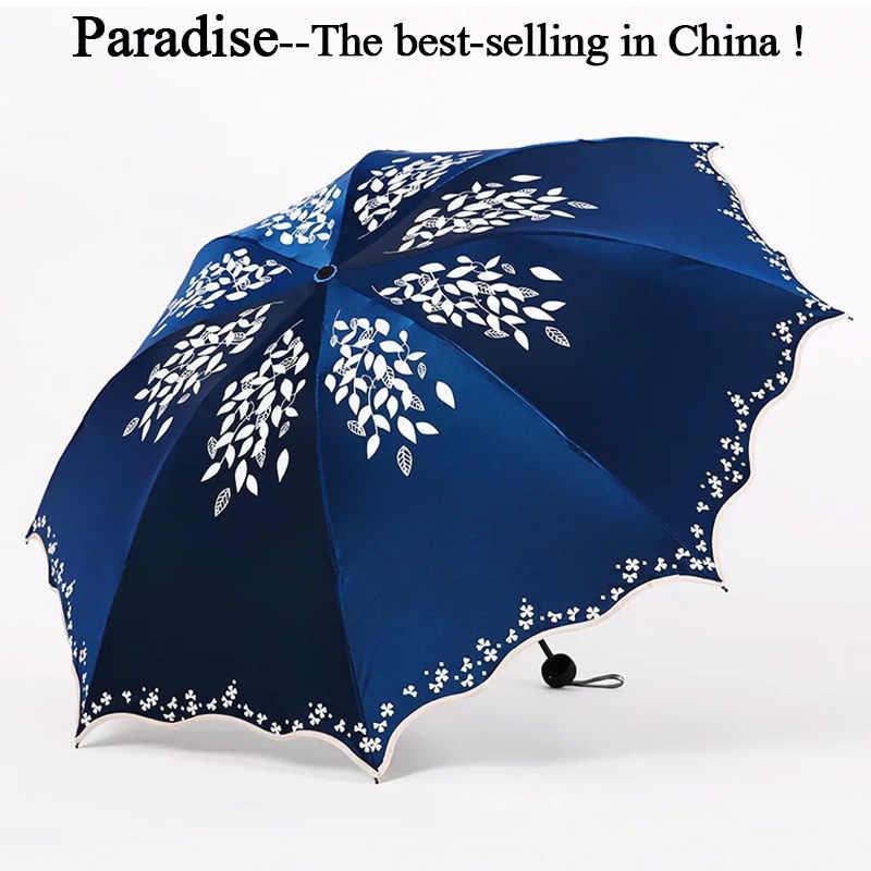Kwaliteit Parasol Regen Vrouwen Mode Prinses Verlaat Dubbele Paraplu Vrouwelijke Parasol Draagbare Creatieve Vrouwelijke Gift