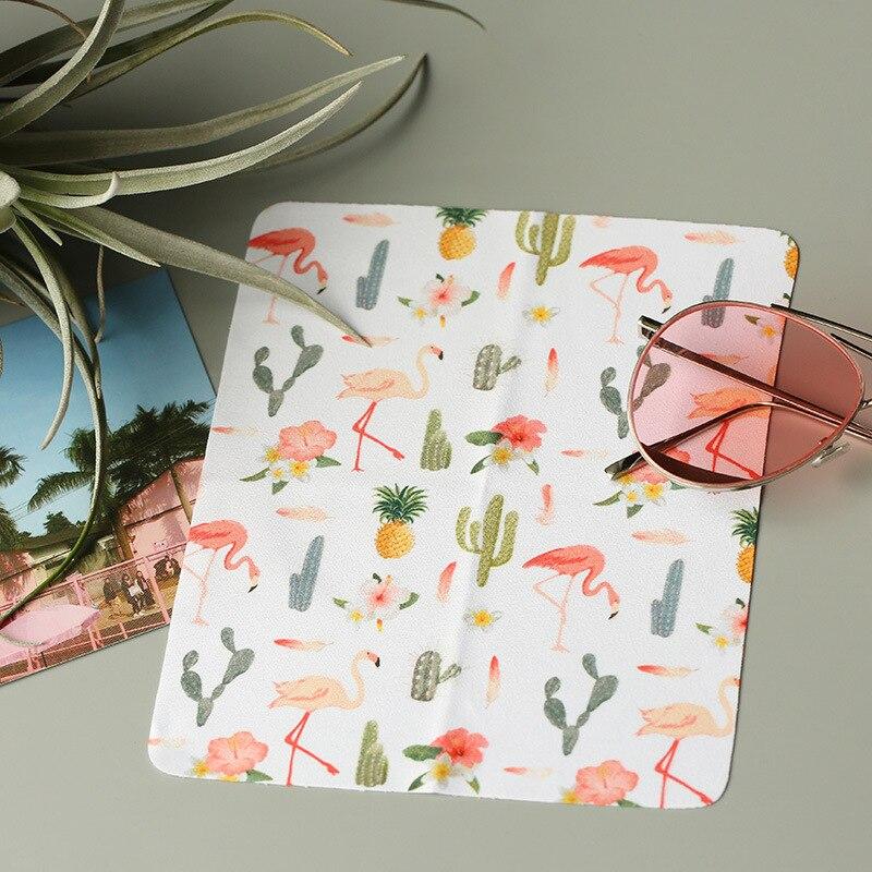 1 шт. высокое качество очки Фламинго очиститель 177*147 мм ткань из микрофибры для чистки очков для объектива телефона чистящие салфетки для эк...