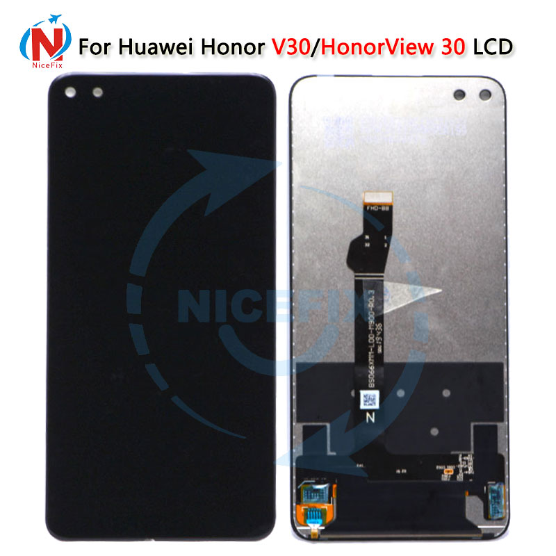 For Huawei Honor V30 LCD Display Screen Honor View30 Touch Screen Digitizer Assembly Replacement OXF-AN00 For Huawei View 30 LCD