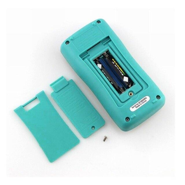 Multímetro Digital BSIDE rango Real Auto multímetro amperímetro capacitancia temperatura HZ NCV Tester RM102