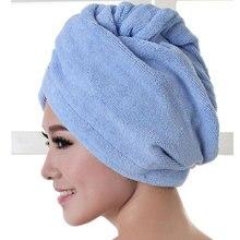 Полотенце s wrap из микрофибры, шапочка для ванной, мягкое, сухое, горячее, женское модное полотенце, тюрбан для волос, быстрый макияж, для женщин, для дома и жизни