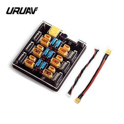 URUAV Blacklight B6pro 60A XT60 XT30 Plug 2-6S Lipo Battery Charger Board for IMAX B6 ISDT Q6 HOTA D6 Pro P6 Charger RC Parts