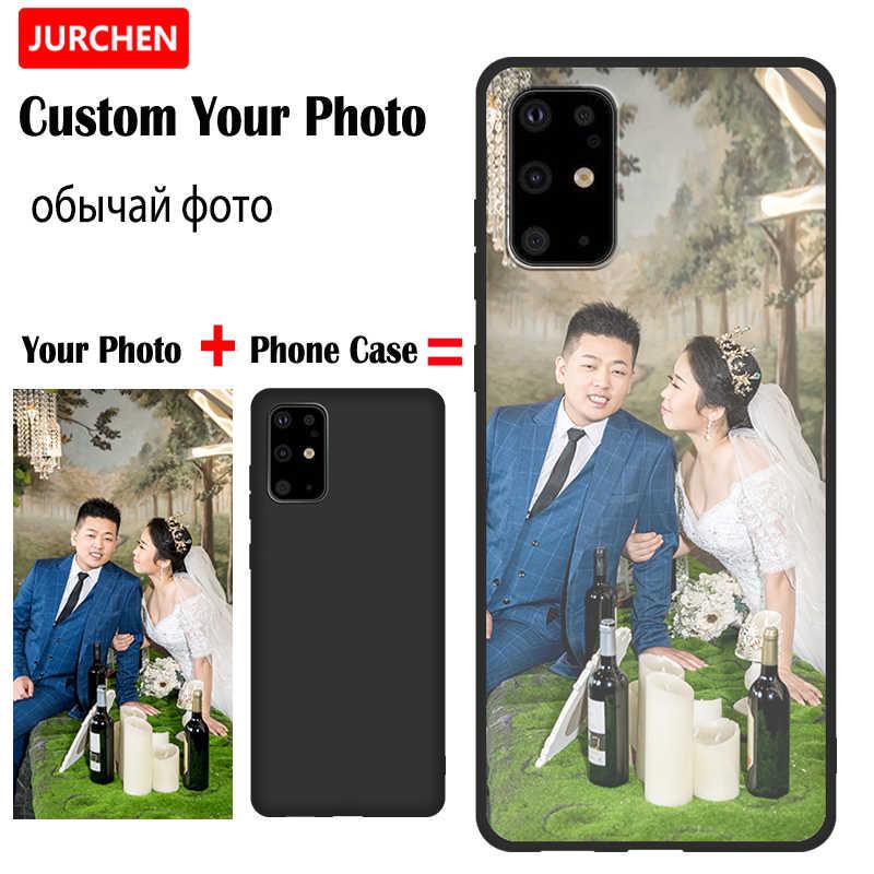 Jurche Kustom Ponsel Cover untuk OnePlus 8 5T 7 7T PRO Case Bingkai Foto untuk Lg X Power 2 3 K10 K11 K50 V30 W10 W30 Stylo 4 5 G7 G8s