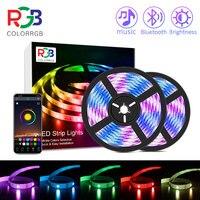 ColorRGB, taśma LED RGB Light, kontrola aplikacji zmiana koloru LED SMD 5050 światło RGB paski z pilotem RF do pokoi, impreza
