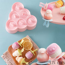 Ice Cream Mold Ice Cube Molds Popsicle Maker Platsic Kitchen Tools Popsicle Mold Ice Cream Tray Ice Cream Silicone Mould