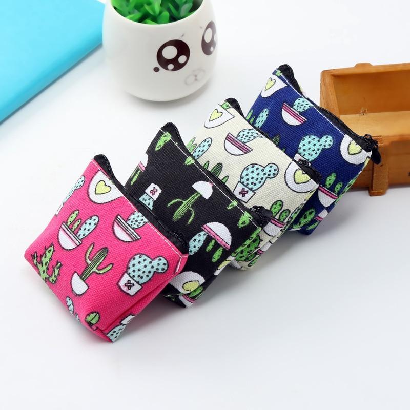 Women Tampon Storage Bag Zipper Mini Sanitary Pad Pouch Napkin Cosmetic Bags Organizer Ladies Makeup Bag Tampon Holder Organizer