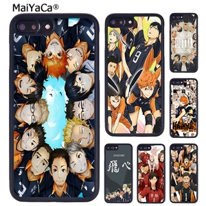 MaiYaCa Haikyuu!! Karasuno Volleyball Team Phone Case For iPhone X XR XS 11 Pro MAX 5 6 6S 7 8 Plus Samsung Galaxy S7 S8 S9 S10(China)