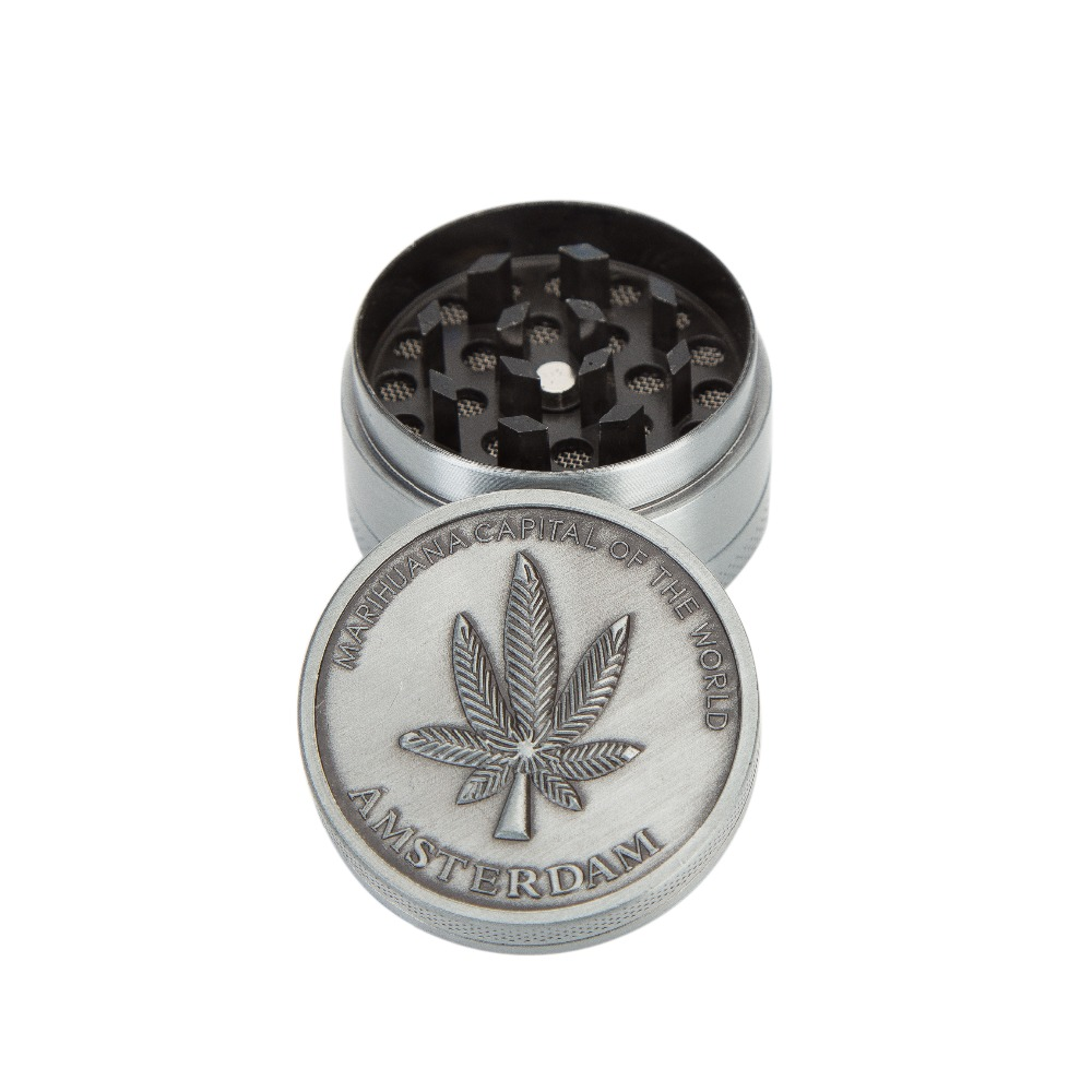 40mm 3 Layers Mini Herb Grinder Smoke Spice Tobacco Hand Muller For Hookah Shisha Water Pipe Cigar Crusher Accessories Wholesale