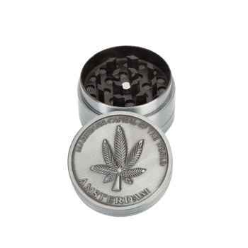 40mm 3 Layers Mini Herb Grinder Smoke Spice Tobacco Hand Muller for Hookah Shisha Water Pipe Cigar Crusher Accessories wholesale image