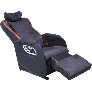 Jourm, silla de coche de lujo de cuero con reposapiés, asiento eléctrico para Land Cruiser, autobús de dragón dorado, tuano de los caballeros del mundo