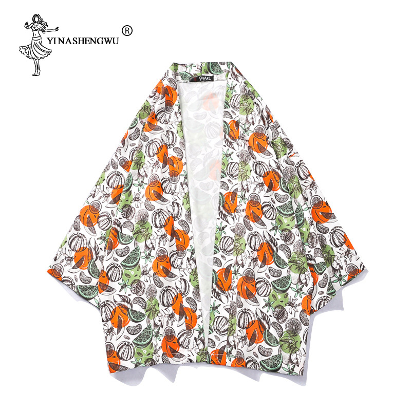 Japanese Traditional Kimono Yukata Robe Women Japan Kimonos  Cardigan Men Kimono Femme Kimono Cosplay Unisex Cardigan Shirt Coat