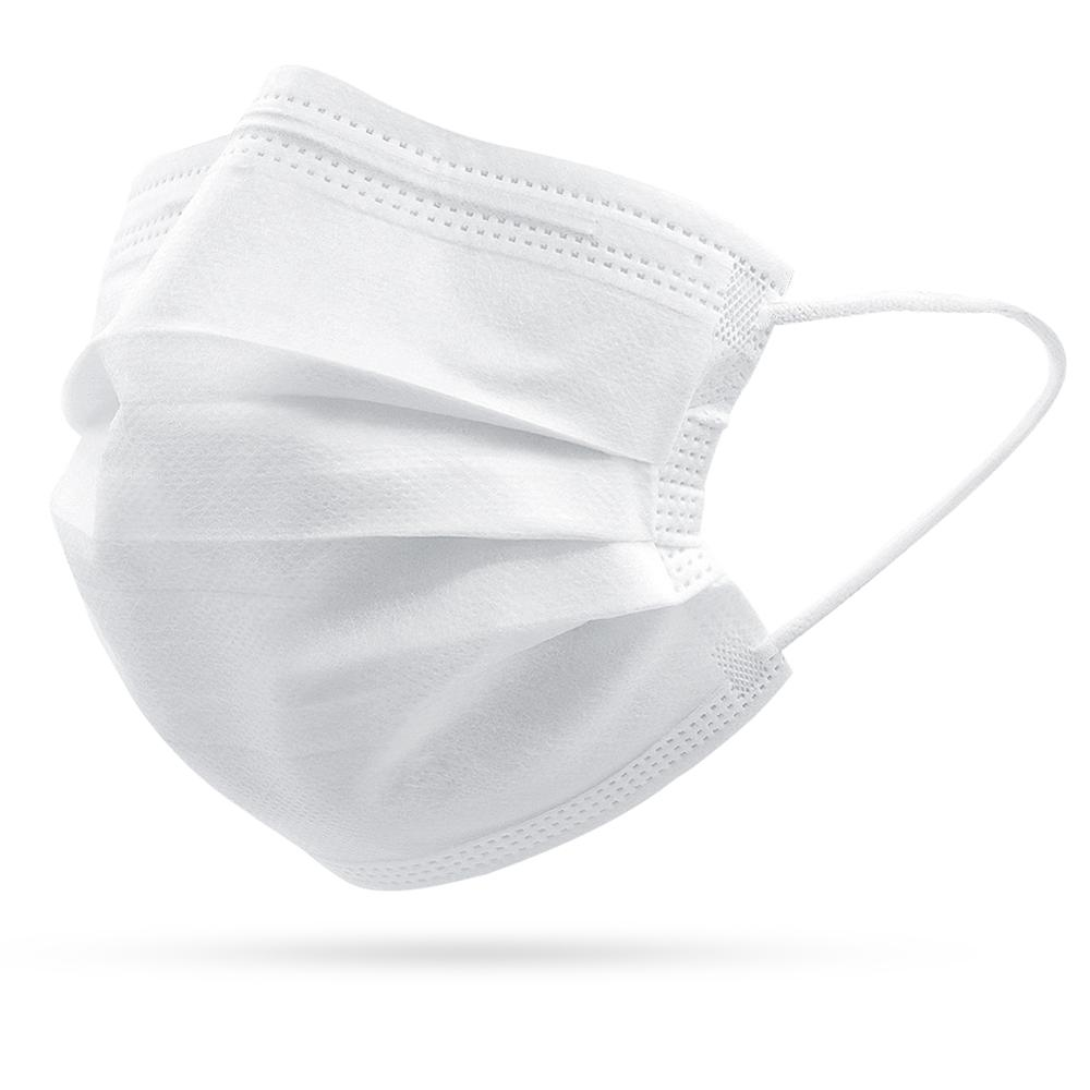 10/20/50/100/200pcs White Disposable Face Masks Non Woven 3 Layers  Mouth Muffle Masks  Face Mouth Mask