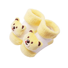 Детские носки г., Новое поступление, носки для малышей хлопковые нескользящие носки для новорожденных мальчиков и девочек носки с колокольчиками для малышей,# D20