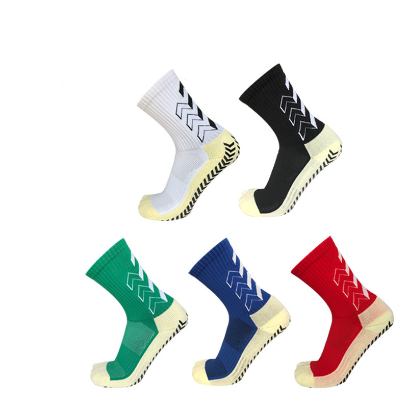 Adult Children Soccer Socks Two Size Anti Slip Rubber Block Football Socks Men Boys Rugby Baseball Basketball Socks