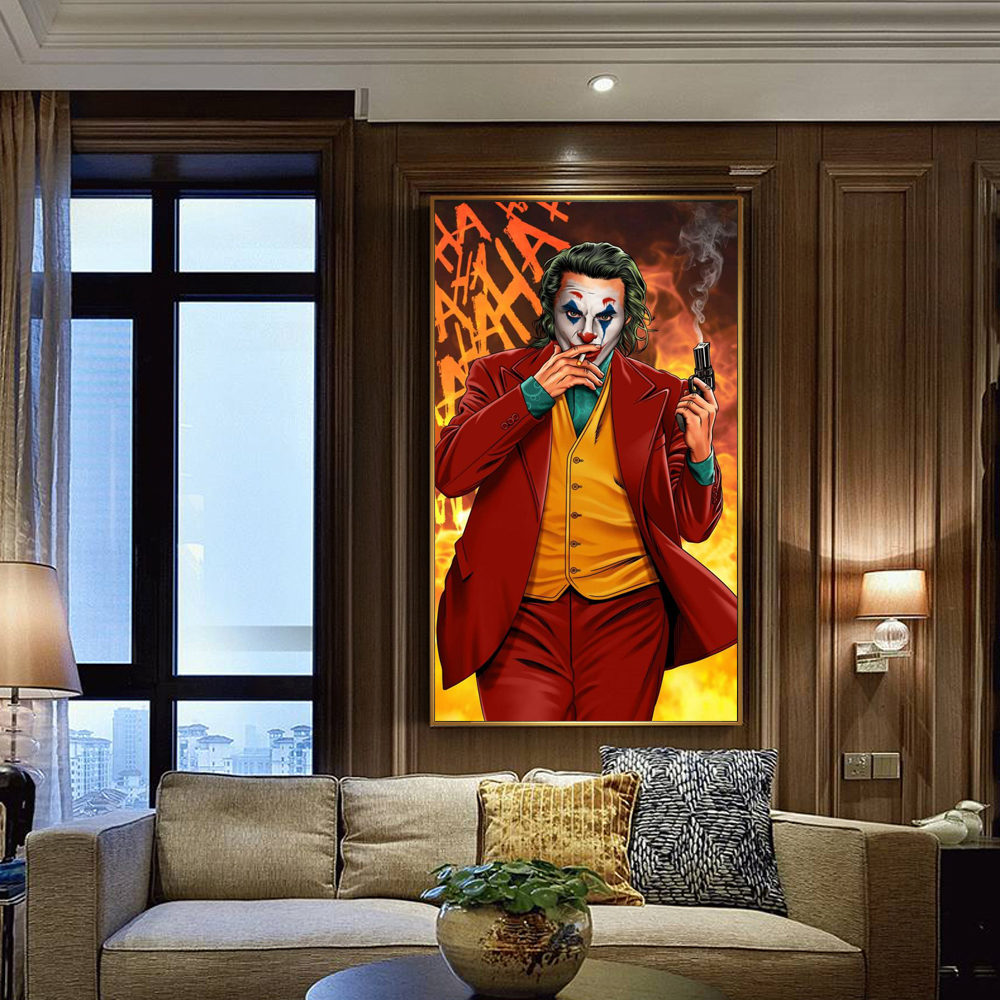 Modular Canvas Hd Prints Wall Arts Picture The Joker Movie Posters Paintings For Living Room Modern Home Decoration Unframed