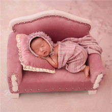 Sofa Photography-Props Newborn Baby-Girl Mini Bed for Photo-Shooting Lovely Couch Posing