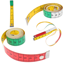1PC Body Measuring Ruler Sewing Tailor Tape Measure Mini Soft Flat Ruler Centimeter Meter Sewing Measuring Tape 60in 1.5m
