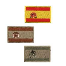 Испанский флаг вышитый значок рюкзак повязка на руку Военная