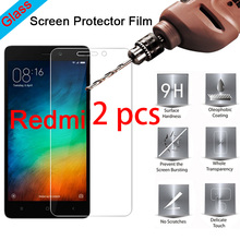 2 pcs! 9H HD Protective Glass Phone Screen Protector for Redmi 7 6 Pro 5 Plus Hard Tempered Glass for Xiaomi Redmi 6A 5A 4A 4X protective pc clear screen films w cleaning cloth for xiaomi mione 1s transparent 6 pcs