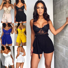 NEW Women Ladies Clubwear Summer Playsuit Bodycon Sexy Jumpsuit Romper Trousers