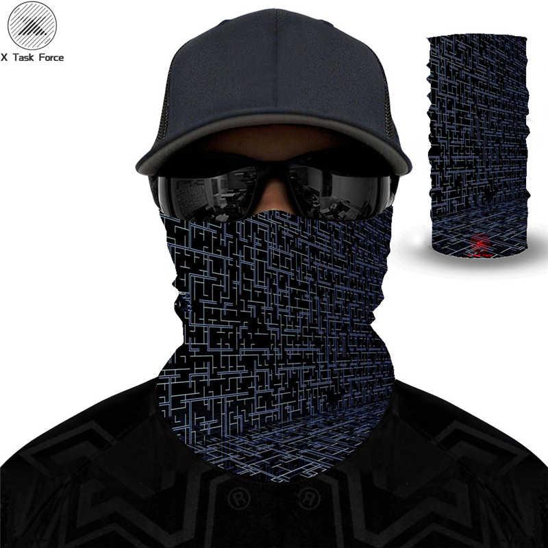 Kamuflaj eşarp Magic dikişsiz bandanalar çoklu kullanım kadın erkek Camo kafa bandı taktik maske kadın erkek Multicam tampon boyun körüğü