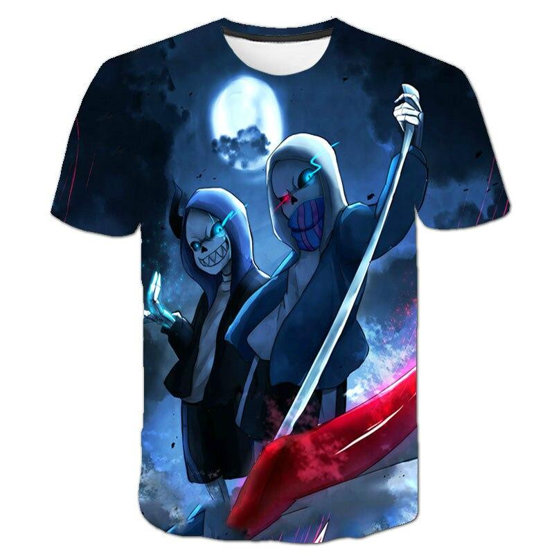 Camiseta de manga corta 3D para hombre, Camiseta holgada y transpirable con estampado de dibujos animados legend, divertida, a la moda, 2021 Ropa de calle
