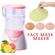 NEW DIY Face Mask Maker Vegetable Natural Collagen Fruit Face Mask Maker Machine Personal Skin Care Spa Home Use Belleza