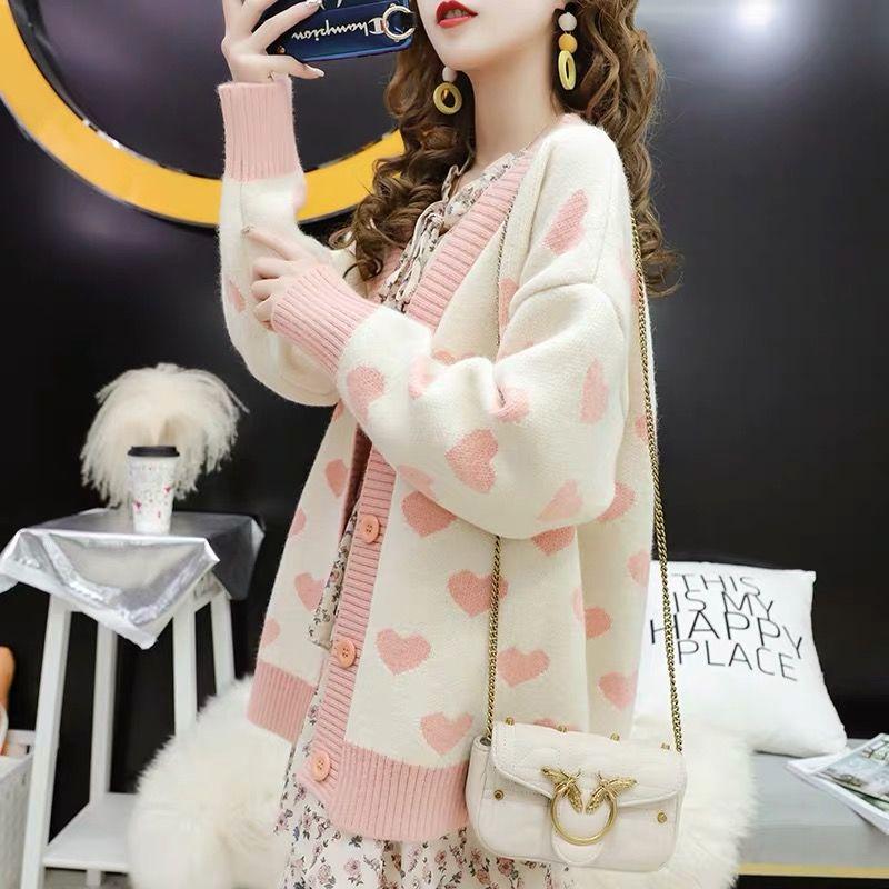 2019 Fashion Cardigans Knitted Sweaters Women Autumn Thin Knit Cardigan Sweater Cotton Long Street Wear Coat Female Outwear Coat
