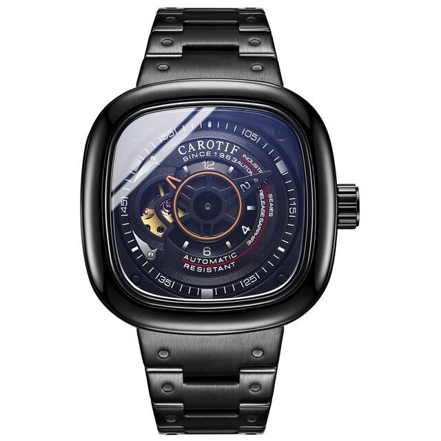 Top Quality Luxury Full Steel Men Watches Montre Automatic Mechancal Wrist Watches Men Reloj Hombre Business Watch Man | Fotoflaco.net