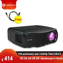 CAIWEI A12 1080P projektor Full HD WIFI Multiscreen projektor natywny 1920x1080P SmartPhone Beamer 3D kino domowe kino wideo tanie tanio Korekcja ręczna CN (pochodzenie) Projektor cyfrowy 16 09 160W ANDROID 1920x1080 dpi 7000 lumenów 40-200 cali Led light