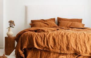 4 шт., зимнее французское постельное белье 100%, Комплект постельного белья из чистого льна, простыня, наволочка и пододеяльник, комплекты, не в...