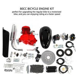 Image 4 - Do rowerów elektrycznych silnika 80cc silnik rowerowy 2 suwowy silnik rowerowy zestaw motocyklisty zestaw silnika zestaw prędkościomierz rower elektryczny