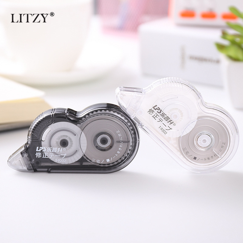 20M Simple And Transparent Correction Tape Large Capacity Portable Correction Tape School Office Stationery Supplies 1pcs