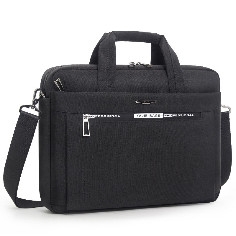 2019 New Business 16 Inch Laptop Bags Men's Briefcase Handbags Oxford Cloth Waterproof Men Office File Man Bag Man Shoulder Bags