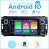 ZLTOOPAI 자동차 멀티미디어 플레이어 안드로이드 10.0 닷지 램 챌린저 지프 랭글러 JK 자동차 GPS 자동 라디오 스테레오 DVD 플레이어 SWC