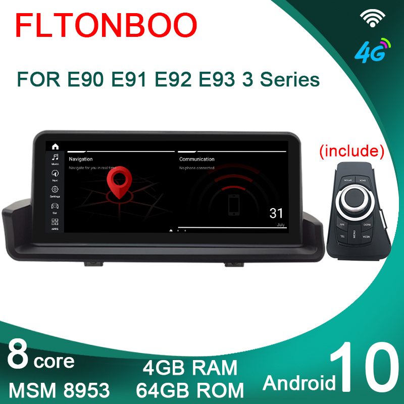 "10,25 ""Android 8,1 Автомобильный Gps радио плеер навигация ID7 для BMW E90 E91 E92 E93 3 серии 6 ядер wifi bluetooth 2 Гб ram 32 Гб rom Мультимедиаплеер для авто      АлиЭкспресс"