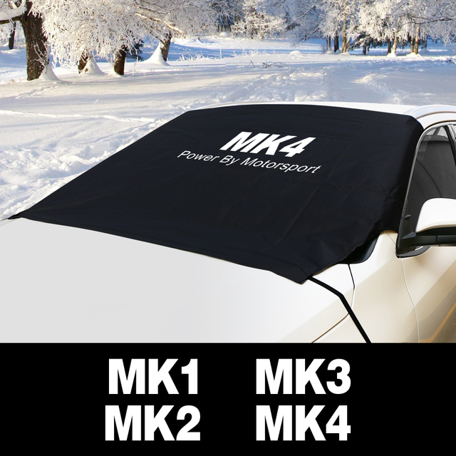 Parabrisas de coche hielo de nieve polvo bloque impermeable parasol Protector para Ford Focus MK1 MK2 MK3 MK4 2 3 1 4 accesorios de Auto